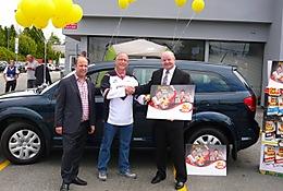Prix bonus d'une 2014 Dodge Journey dans le concours « Célébrant les...