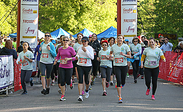 Old Dutch sponsors The Toronto Women's Run Series (TWRS) 2013