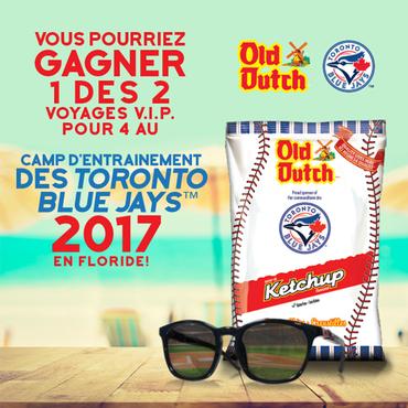 LE CONCOURS CAMP D'ENTRAINEMENT DES TORONTO BLUE JAYS 2017.