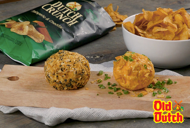 Old Dutch Jalapeño & Cheddar Chip Cheese Ball