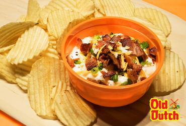 Bases Loaded Potato Chip Dip