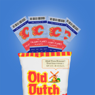Old Dutch & Calgary Flames Playoff Ticket Giveaway