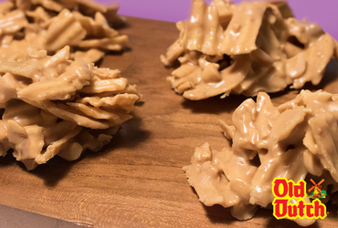 Dutch Butterscotch Haystacks