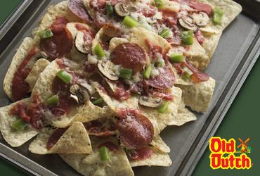 Big Play Pizza Nachos partnered with Edmonton Eskimos