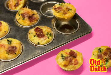 Mini-quiches façon Old Dutch