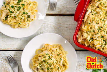 Old Dutch Cheese Chicken Spaghetti