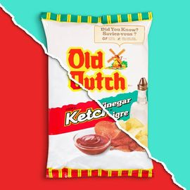 What would you rather snack on - Old Dutch Ketchup or Salt 'n Vinegar? Tell...