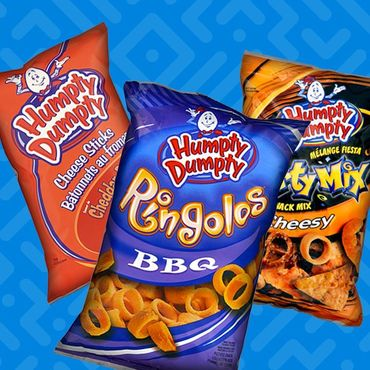 Celebrate Hump Day with Humpty Dumpty snacks.