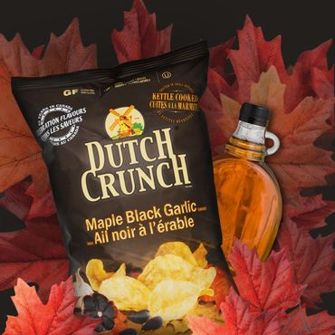 Sweet and savoury is a match made in heaven and our NEW maple and black...
