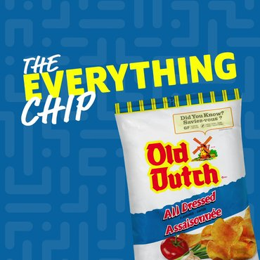 Everyone has that one indecisive friend — our #AllDressed chips are the...