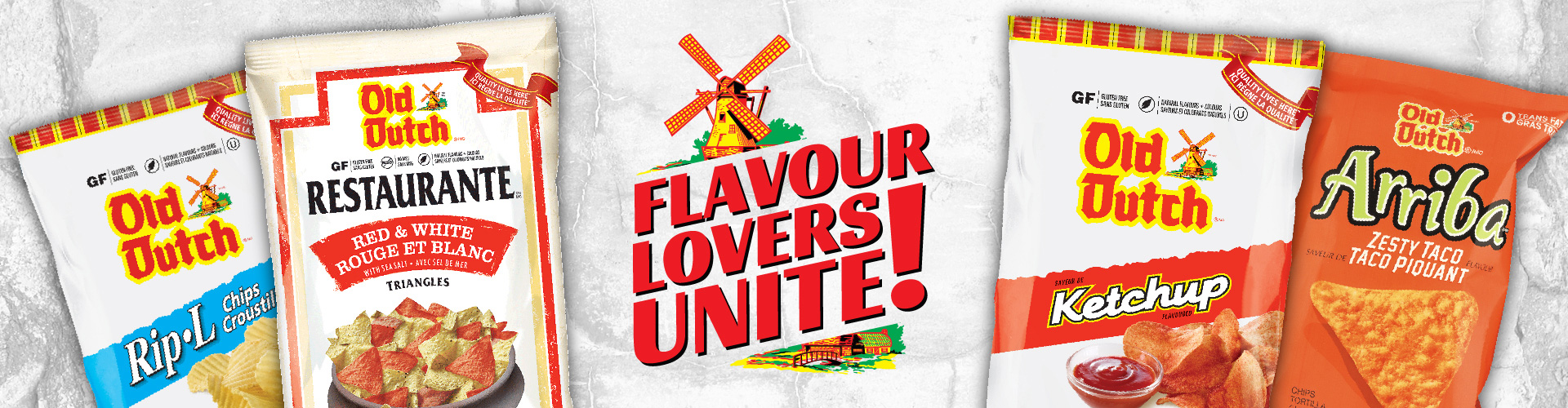 Flavour Lovers Unite! (Red Logo)