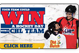 Win a Hockey Day with a CHL Team