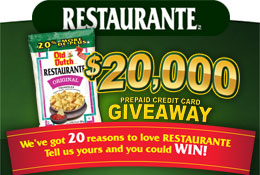 Old Dutch gives 20 More Reasons to Love Restaurante including some great prizes!